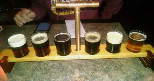 Saugatuck Brewing Flight 1