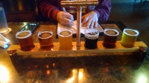 Saugatuck Brewing Flight 2