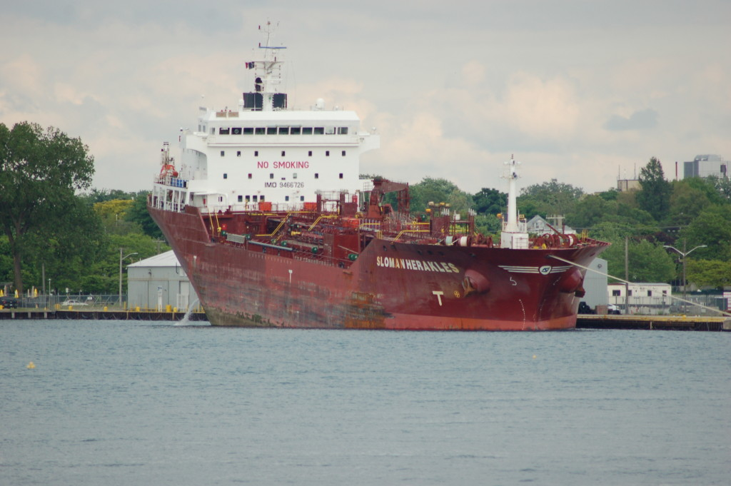 Sloman Herakles (Sloman Neotun Shiffahrts - Germany) photographed from Port Huron