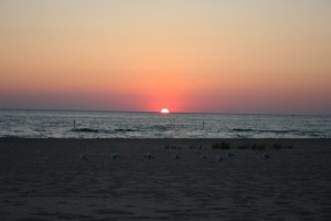 Sunset Platte 2006