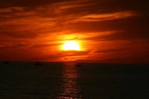 Sunset by Point Betsie 2012 3
