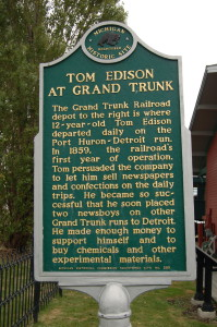 Tom Edison Grand Trunk Marker
