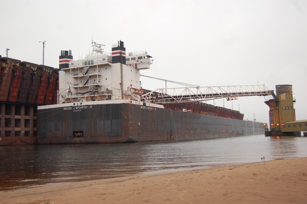 Walter S. McCarthy (American Steamship Co.) at Marquette upper harbor ore dock