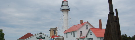 Whitefish Point Lighthouse and Great Lakes Shipwreck Museum - Paradise, MI