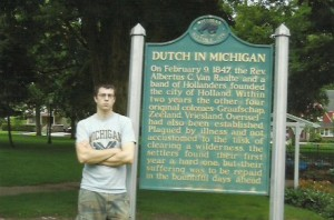dutch in michigan historic marker