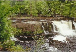 manabezho falls west 1 porcupine mountains