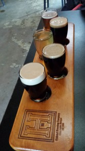 Hideout Brewing Company Flight