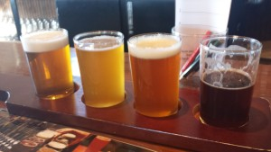 Mountain Town Brewing Flight 1