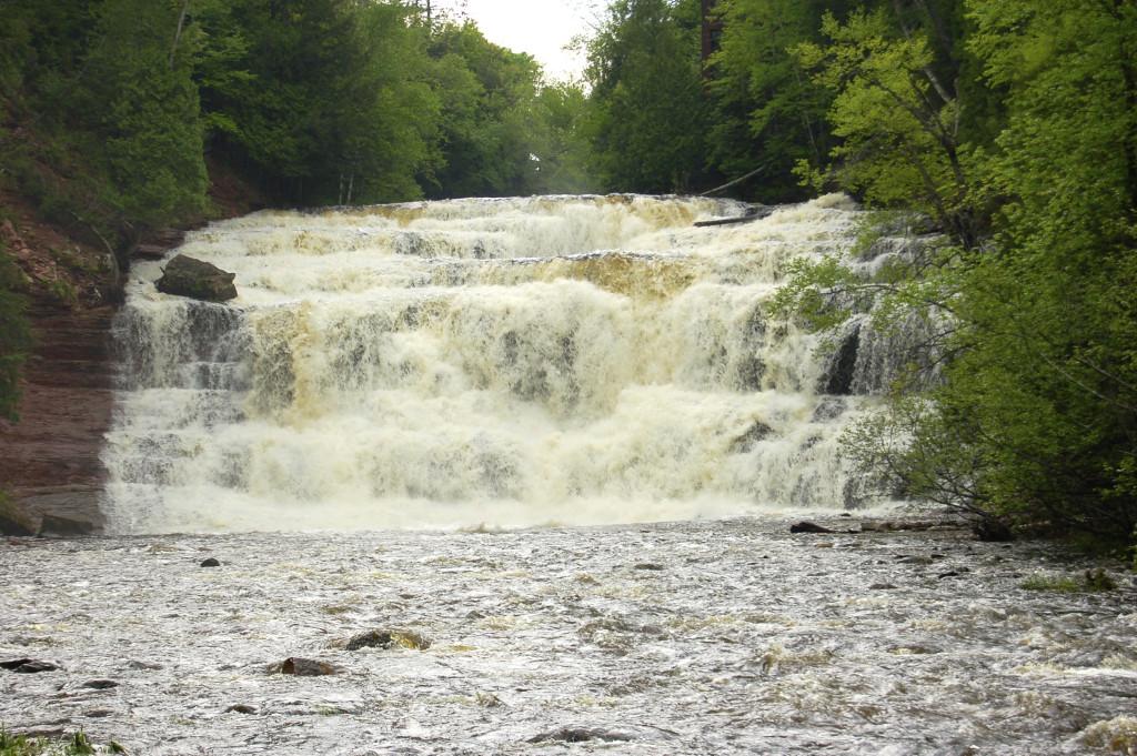 Agate Falls, Ontonagon County