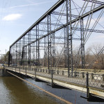 Michigan Roadside Attractions: Second Street Bridge in Allegan