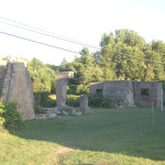 Michigan Roadside Attractions: Ardis Furnace Ruins, Iron Mountain
