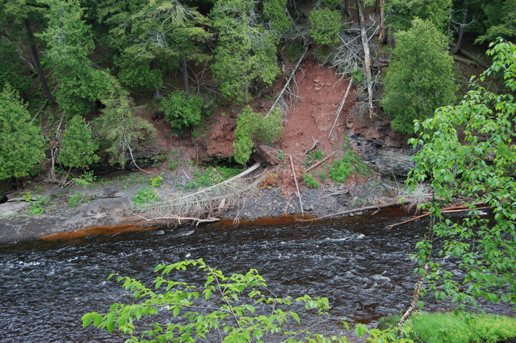 Presque Isle River downstream of Manabezho Falls
