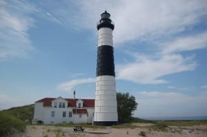 Big Sable Lighthouse Clouds