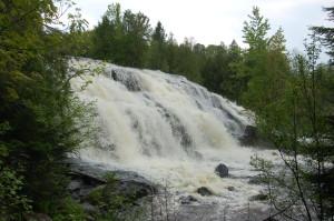 Bond Falls Left Side Michigan