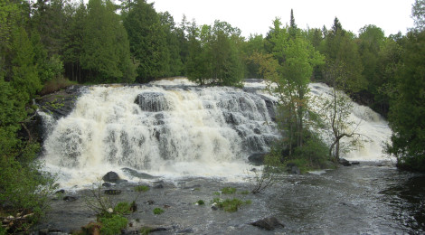 Bond Falls Scenic Site - One of Michigan's Most Spectacular Waterfalls