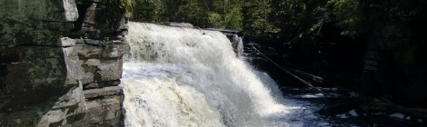 Canyon Falls - Baraga County