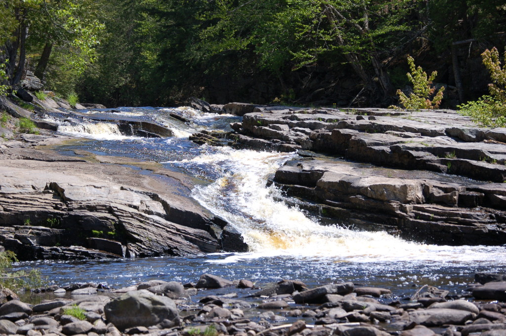 Canyon Falls (Upper), Baraga County