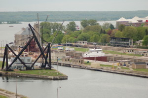 Soo Locks Michigan