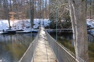 Deerfield Suspension Bridge