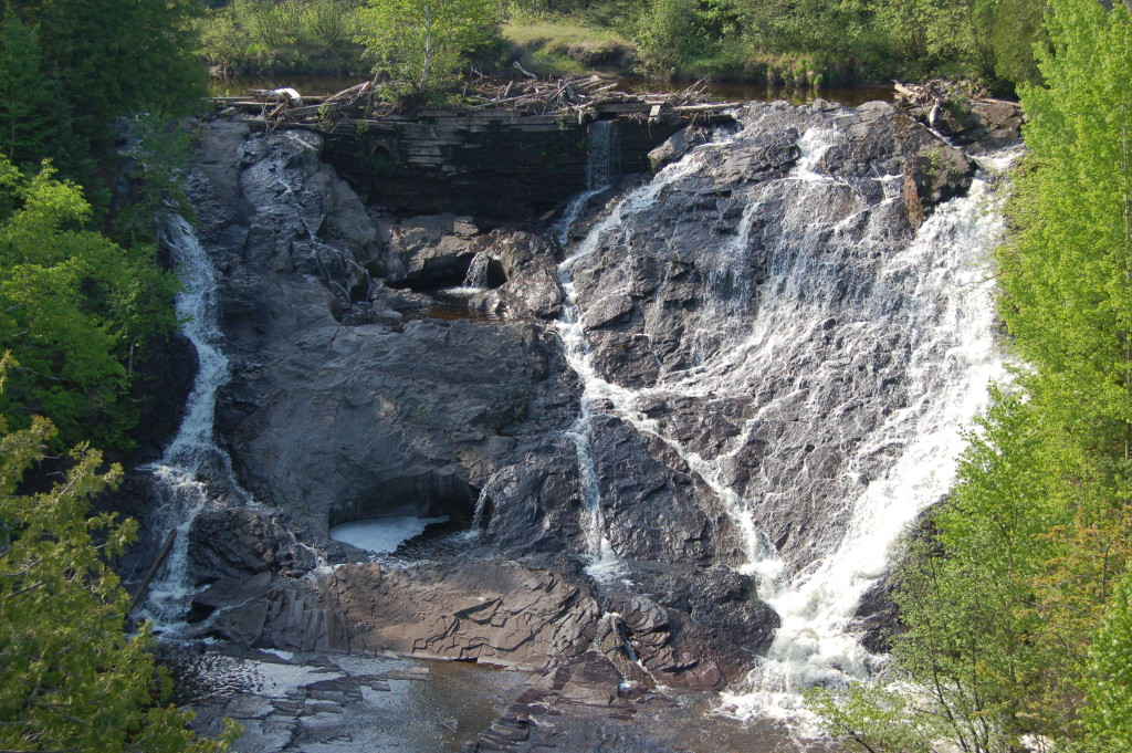 Eagle River Falls, Keweenaw County