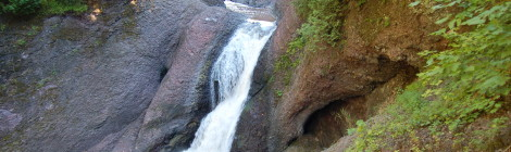 Gorge Falls - Black River Scenic Byway, Gogebic County