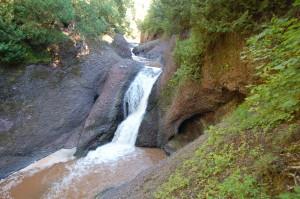 Gorge Falls, Gogebic County
