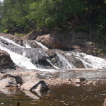 Great Conglomerate Falls – Black River Scenic Byway, Gogebic County