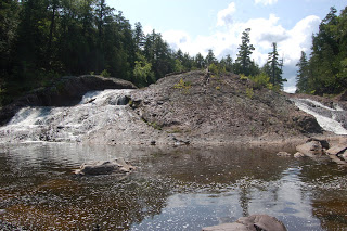 Great Conglomerate Falls, Gogebic County