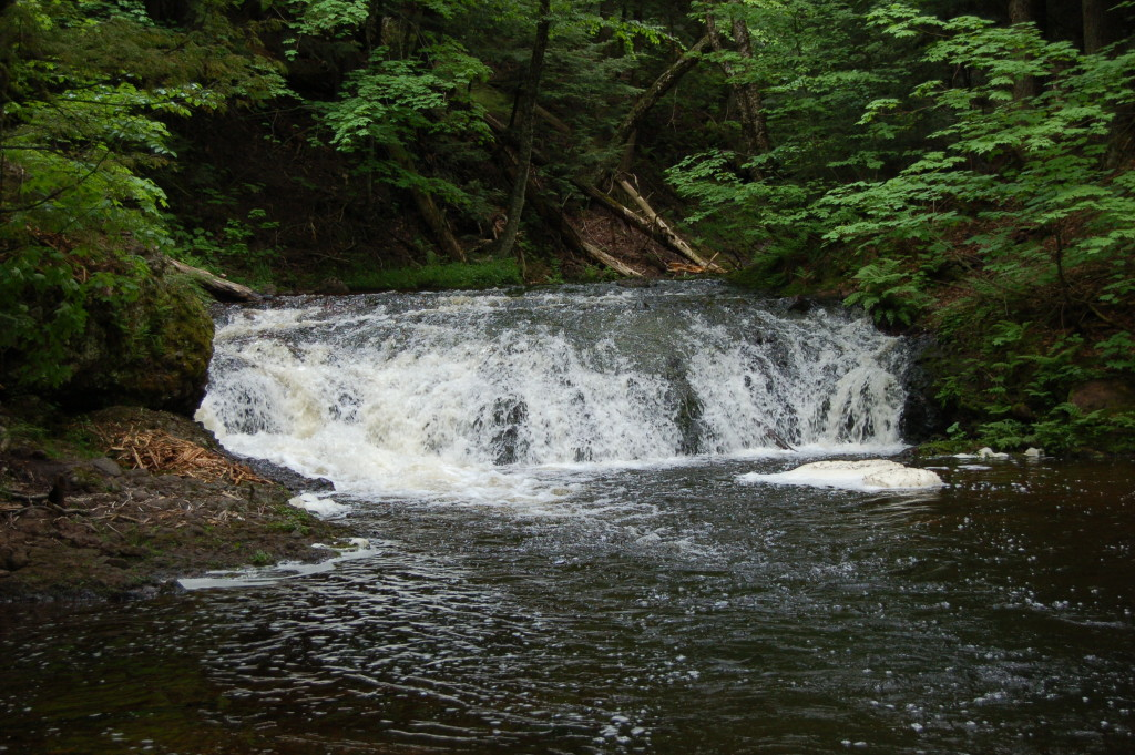 Greenstone Falls, Ontonagon County