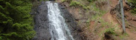 Haven Falls - A Roadside Waterfall In Michigan's Keweenaw Peninsula