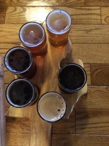 Mitten Brewing Flight Beer