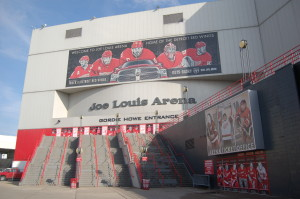 Joe Louis Arena Detroit Red Wings