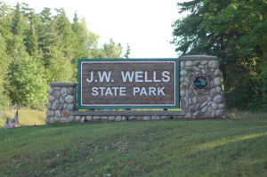 Jw Wells State Park Michigan