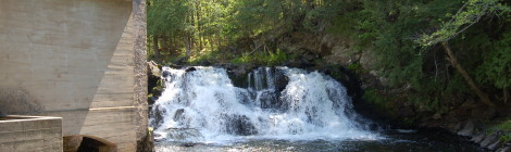 Powerhouse Falls - Baraga County