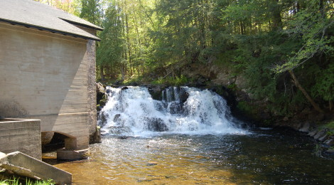 Powerhouse Falls - Baraga County
