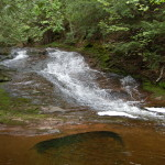 Little Union Gorge Falls – An Easy to Visit Waterfall in Porcupine Mountains Wilderness State Park
