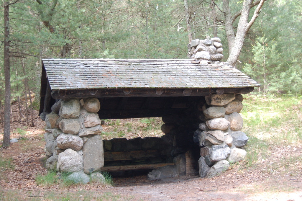 Trail Shelter on Ridge Trail