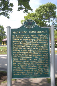 Mackinac Conference Marker