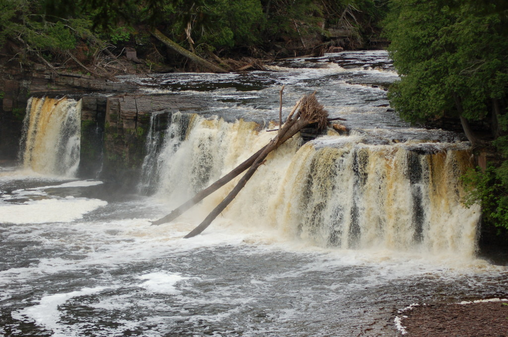 Manabezho Falls, June 2014
