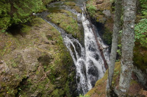 Manganese Gorge Falls Copper Harbor