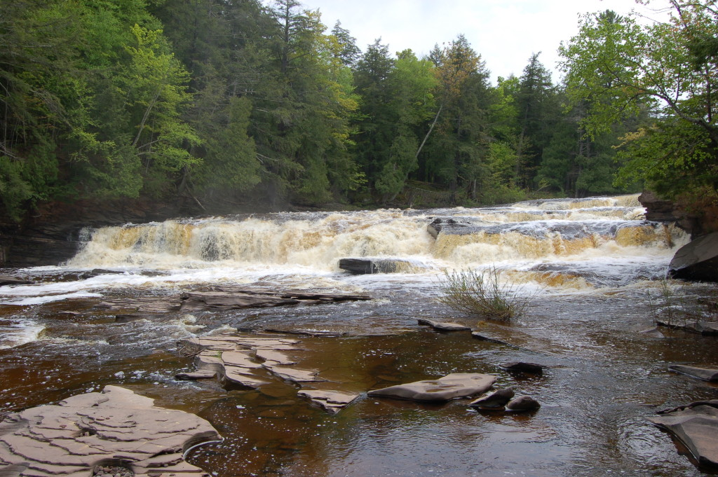 Manido Falls, Gogebic County