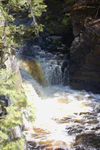 Middle Canyon Falls Michigan