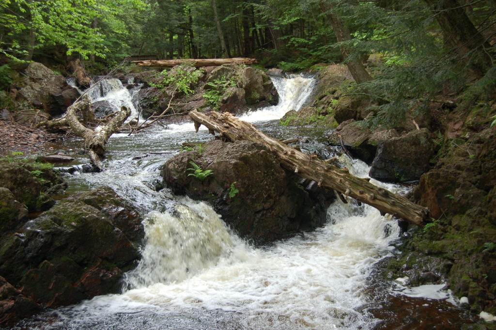 Overlooked Falls, Ontonagon County