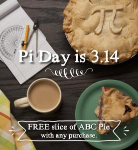 Pi Day Grand Traverse Pie Company