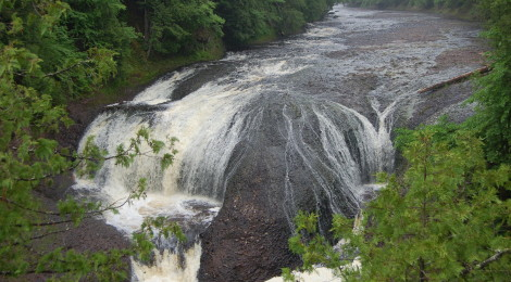 Potawatomi Falls - Black River Scenic Byway, Gogebic County