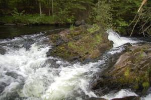 Powerhouse Falls more falls