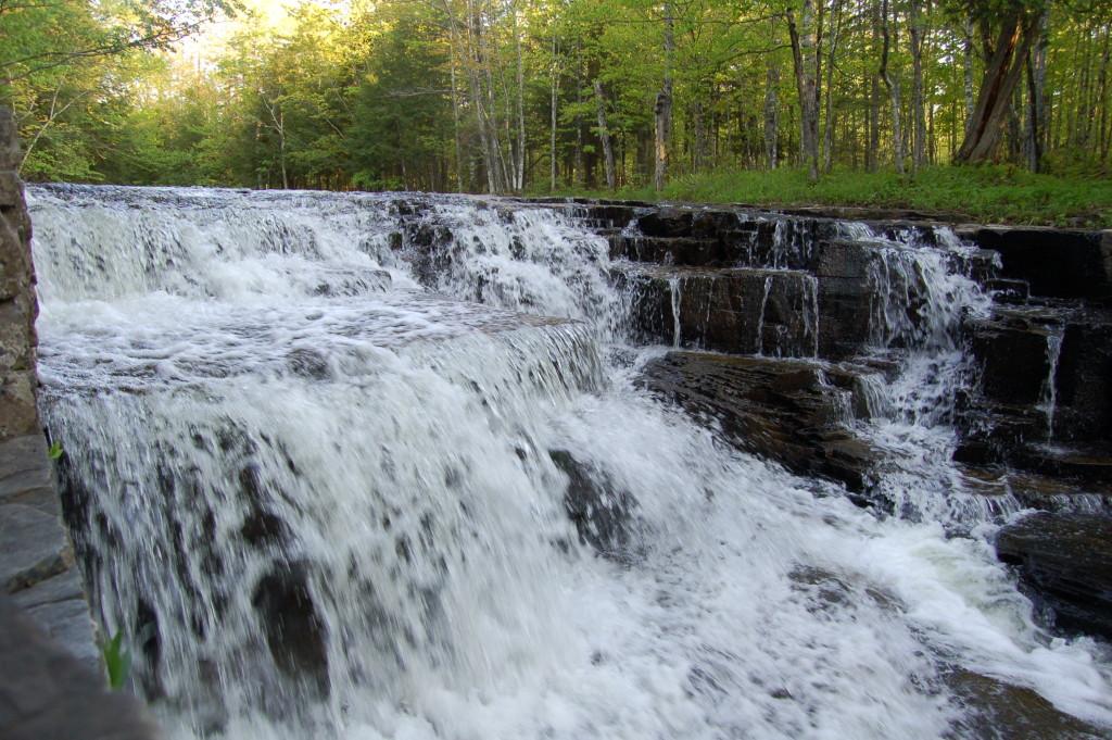 Quartzite Falls, Baraga County