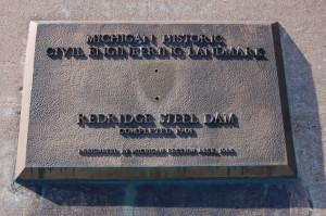 Redridge Dam Marker