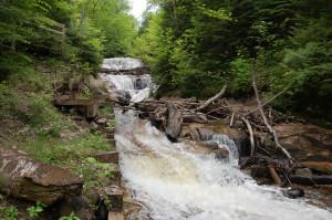 Sable Falls Pictured Rocks Favorite Michigan Places