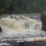 Sandstone Falls – Black River Scenic Byway, Gogebic County